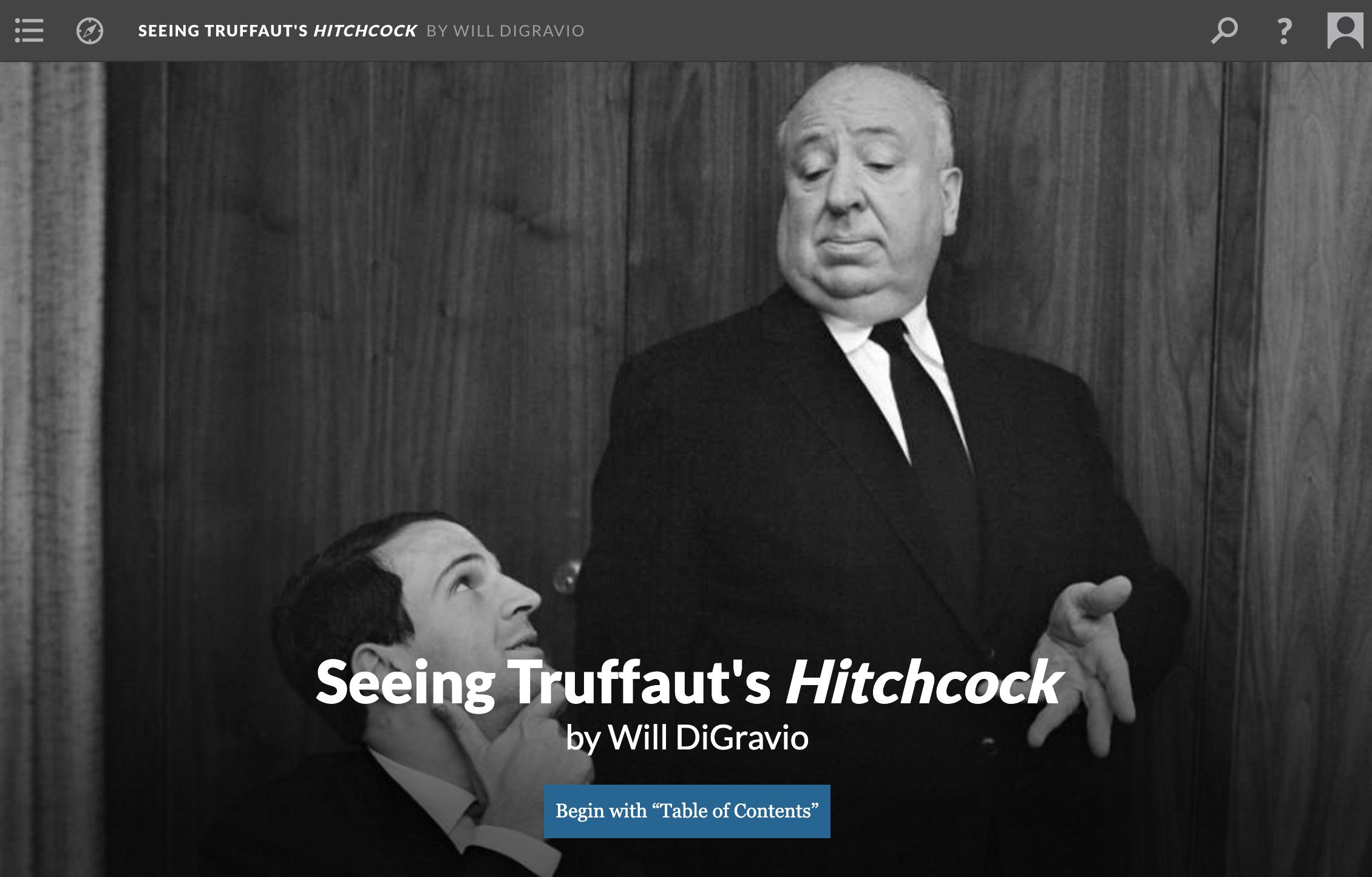 Seeing Truffaut's Hitchcock